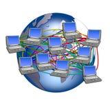 мир сети широкий Стоковое фото RF