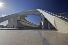 мир стадиона футбола Моисея mabhida 2010 чашек Стоковое фото RF