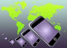 мир телефона иллюстрация вектора