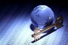мир умозрения изображения схематической экономии кризиса гловальный Стоковые Фотографии RF