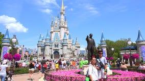 Мир Уолт Дисней Волшебное королевство orlando США видеоматериал