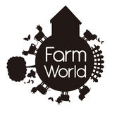 Мир фермы Стоковая Фотография