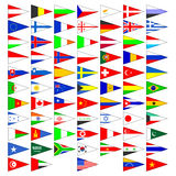 мир флагов стран Стоковые Изображения