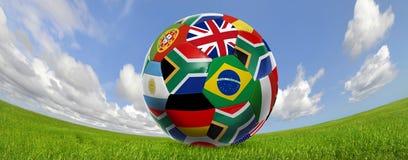 мир футбола чашки Стоковые Изображения