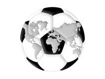 Мир футбола Стоковая Фотография