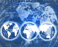 Мир цифров Стоковая Фотография