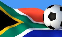 мир чашки знамени Африки южный стоковое фото rf