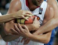 мир чемпионата баскетбола Стоковое Фото