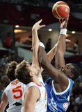 мир чемпионата баскетбола Стоковая Фотография RF