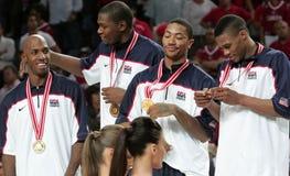 мир чемпионата баскетбола Стоковые Фото
