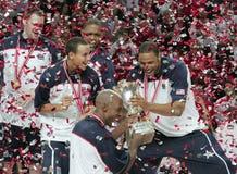 мир чемпионата баскетбола Стоковые Фотографии RF