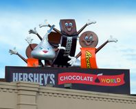 Мир шоколада ` s Hershey Стоковые Фотографии RF