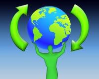мир экологичности 06 иллюстрация штока