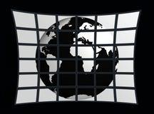 мир экрана Стоковое Изображение