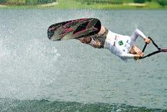 мир 2009 женщин waterski shortboard putrajaya чашки Стоковые Изображения RF