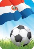 мир 2010 футбола Парагвая чемпионата стоковое фото rf