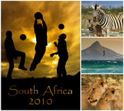 мир 2010 чашки Африки южный Стоковые Изображения RF