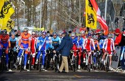 мир 2010 чемпионата перекрестный cyclo Стоковая Фотография
