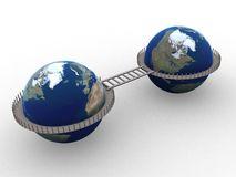 мир 3d Стоковые Изображения RF