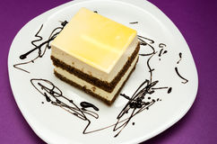 Мир Cream торта Стоковые Изображения RF