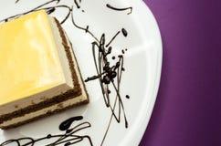 Мир Cream торта Стоковая Фотография