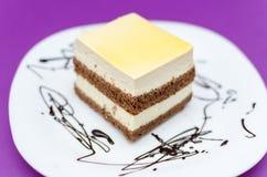 Мир Cream торта Стоковая Фотография RF