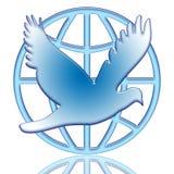 мир dove Стоковые Изображения