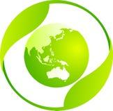 мир eco иллюстрация вектора