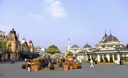 Мир Lotte, Южная Корея стоковые изображения rf