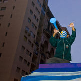 мир montevideo Уругвая 2010 чашек стоковые изображения rf