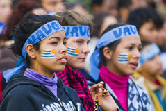 мир montevideo Уругвая 2010 чашек Стоковые Фотографии RF