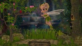 мир rosa s bella fairy Иллюстрация штока
