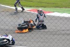 мир superbike чемпионата Стоковая Фотография