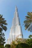 мир UAE башни khalifa Дубай burj самый высокорослый Стоковое фото RF