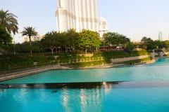 мир UAE башни khalifa Дубай burj самый высокорослый Стоковые Фотографии RF