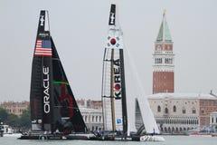 мир venice серии regatta s чашки америки Стоковое фото RF