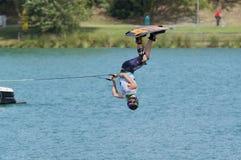 мир wakeboard чемпионата Стоковое фото RF