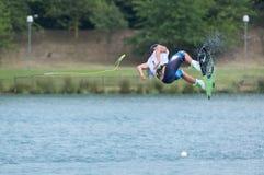 мир wakeboard чемпионата Стоковое Изображение