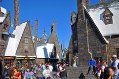 Мир Wizarding Гарри Поттера, Орландо, Флориды, США стоковое фото