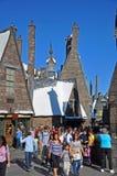 Мир Wizarding Гарри Поттера, Орландо, Флориды, США стоковые фотографии rf