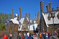 Мир Wizarding Гарри Поттера, Орландо, Флориды, США стоковые изображения rf