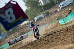 мир wmx motocross mx3 Словакии чемпионата Стоковая Фотография RF