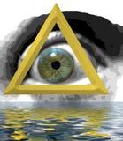 мистик глаза стоковое изображение rf