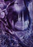мистик замока Стоковое Изображение RF