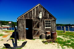 Мистик, CT: Мистический музей морского порта стоковое изображение