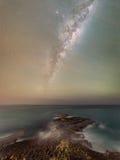 Мистическая береговая линия Стоковое Изображение RF