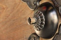 Мистическая деталь двери стоковая фотография