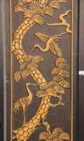 Мистическая деталь двери стоковое фото rf