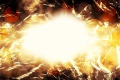 Мистическая светлая предпосылка Стоковое фото RF