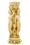Мистическая свеча в форме женских диаграмм с Cerberus Стоковые Фотографии RF